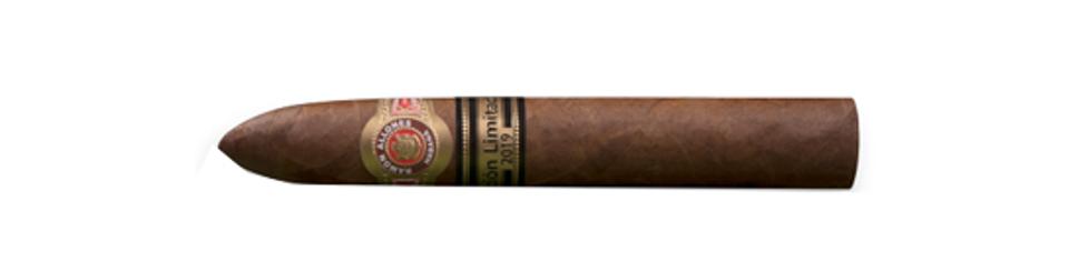 A single Ramon Allones Allones No. 2 Cigar