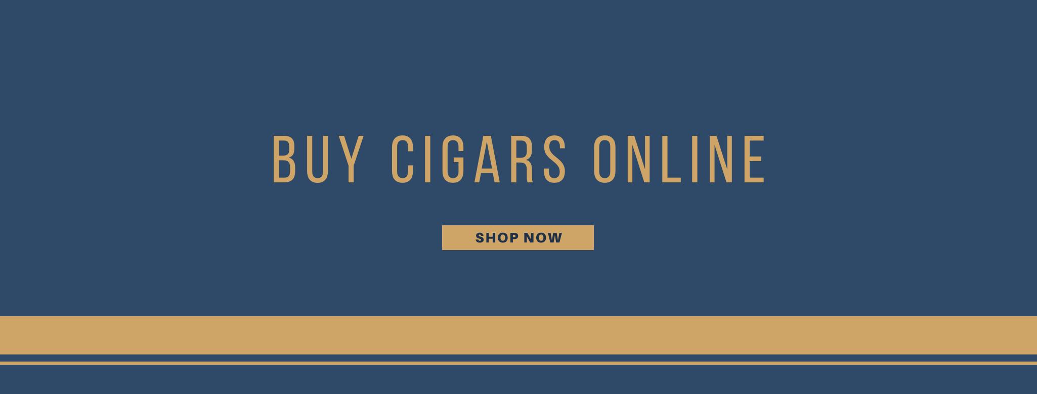 Buy cigars online banner