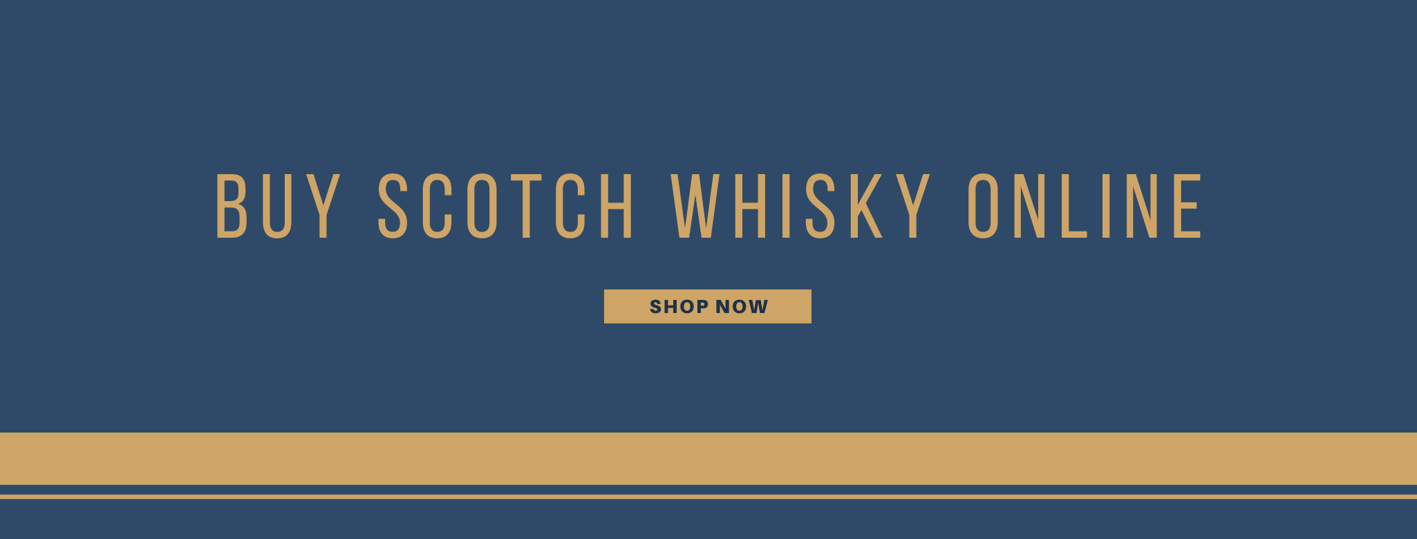 Buy scotch whisky online banner
