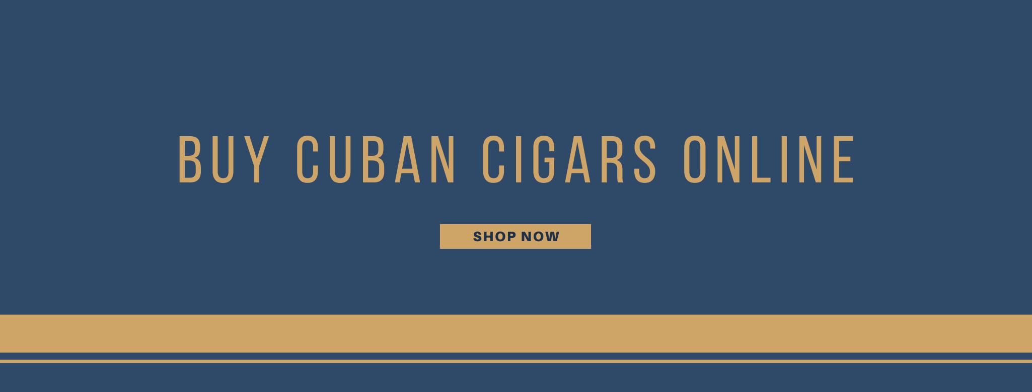 Buy Cuban cigars online banner