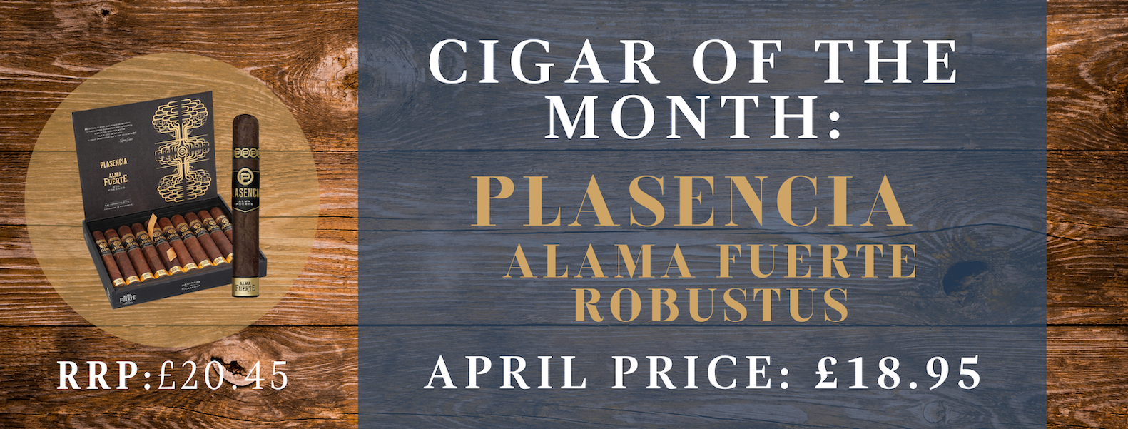 April cigar of the month banner