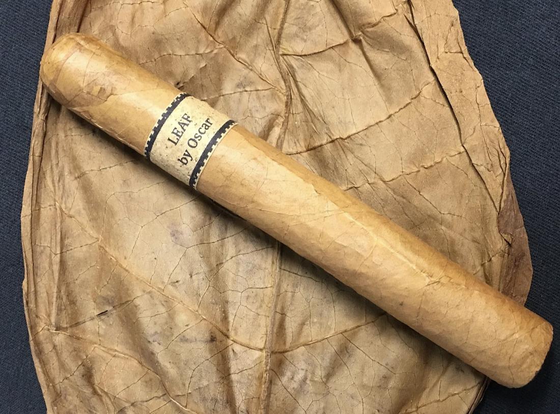 Sumatra wrapper leaf and cigar