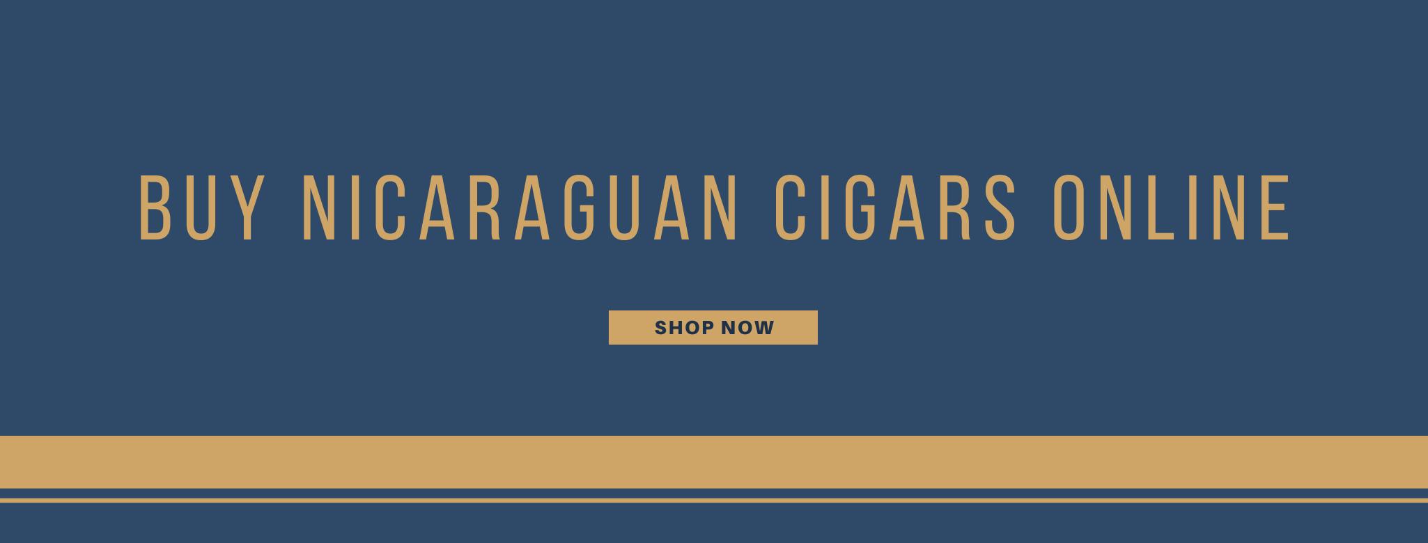 Buy Nicaraguan cigars online banner