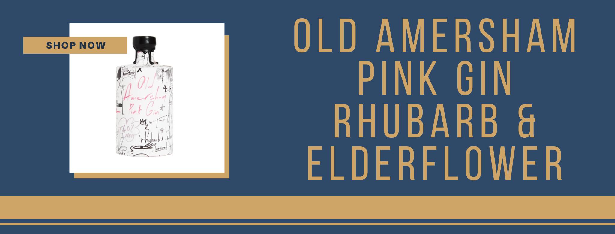 Buy Old Amersham pink gin online
