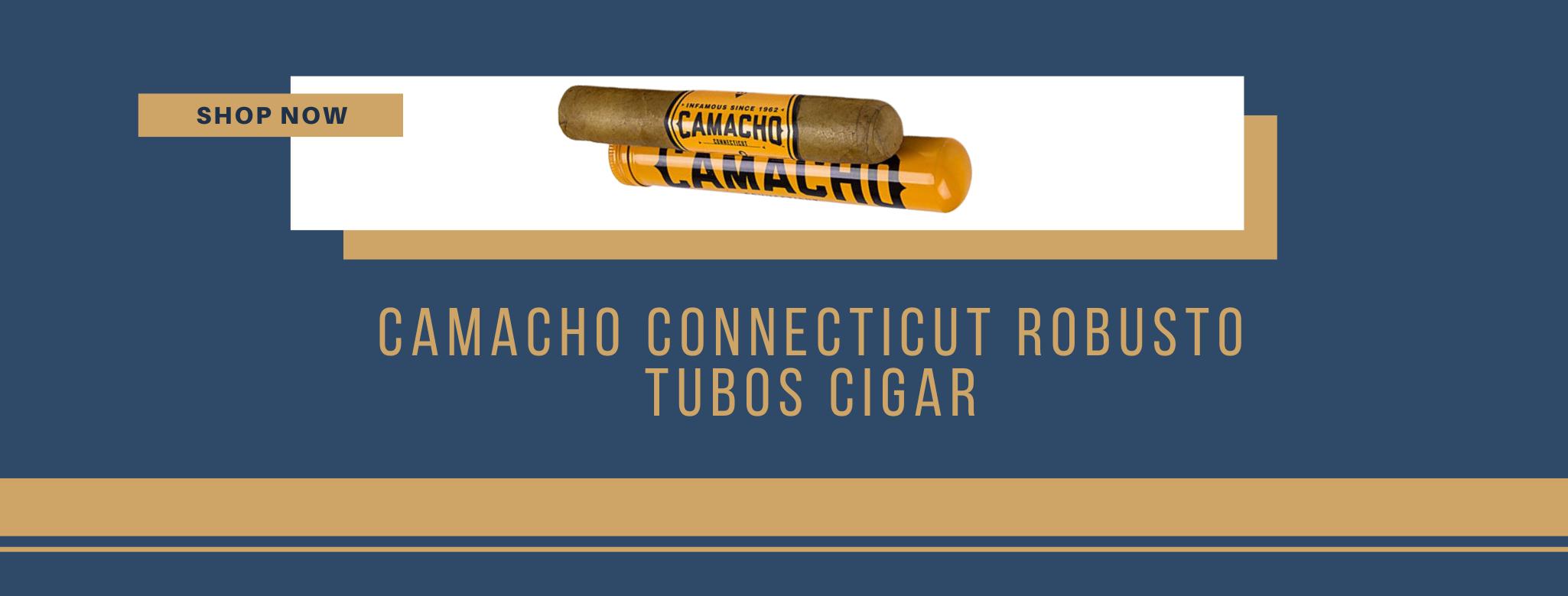 Buy Camacho Connecticut Robusto Tubos cigars online
