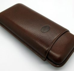 Jemar Brown Leather Cigar Case