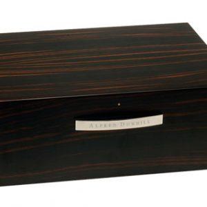 Dunhill Macassar Ebony Humidor - 50 cigar Humidor