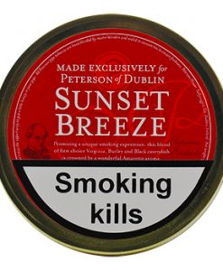 Peterson Sunset Breeze Pipe Tobaccoze Pipe Tobacco