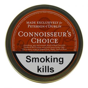 Peterson Connoisseur's Choice Pipe Tobacco 50g tin