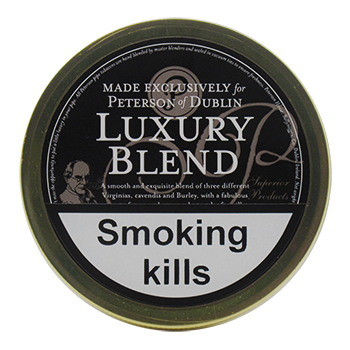 Peterson Luxury Blend Pipe Tobacco 50g tin
