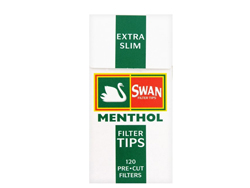 Swan Extra Slim Menthol Rolling Filters